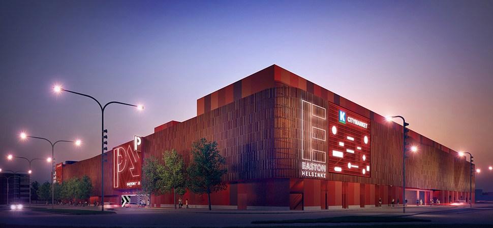 East Helsinki's new centre – Easton Helsinki – topped out